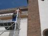 Colocación de redes antipajaros en Iglesia Las Navas de la Concepción