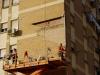 Reconstrucción de paredes de ladrillo visto
